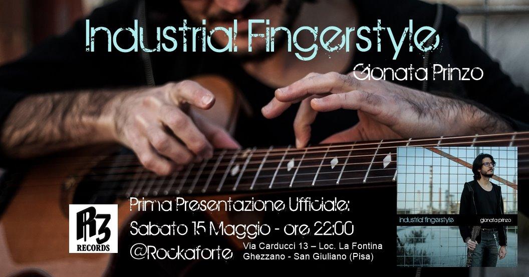 RockAtrioLive2019 – Gionata Prinzo – Industrial Fingerstyle