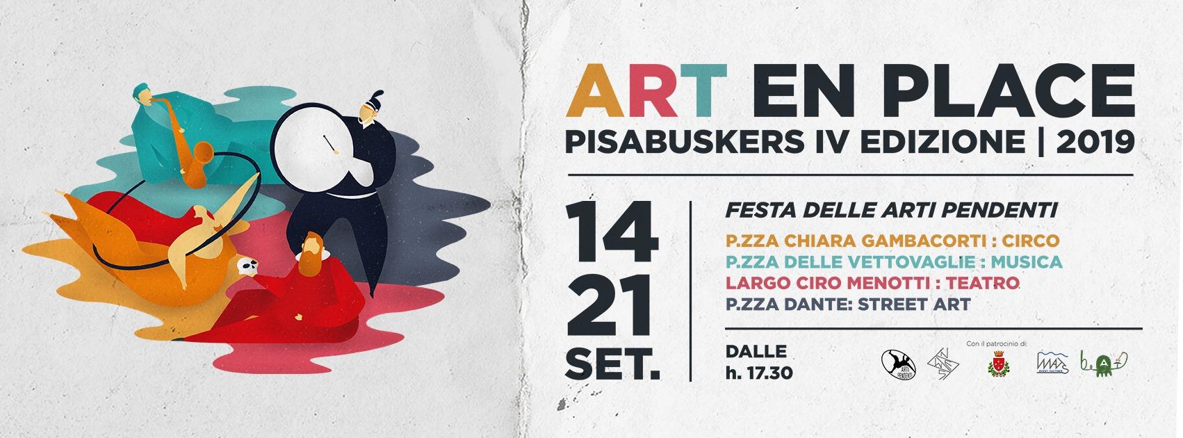 Pisa Busker 2019